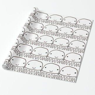Cute Little Octopus Squid Thing Wrapping Paper
