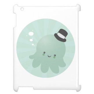 Cute Little Octopus wearing a black Top Hat Cover For The iPad 2 3 4