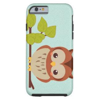 Cute Little Owl Tough iPhone 6 Case