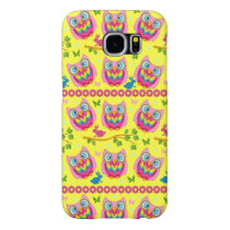 Cute little Owls Samsung Galaxy S6 Case