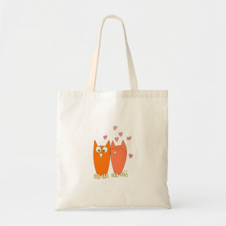 Cute little owls tote bag