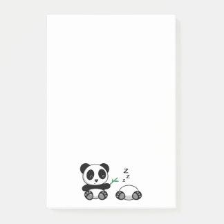 Cute Little Pandas Post-it Notes