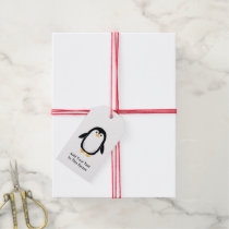 Cute Little Penguin Gift Tags