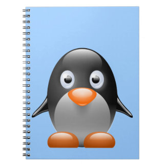 Cute Little Penguin Notebook