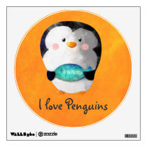 Cute Little Penguin Wall Sticker