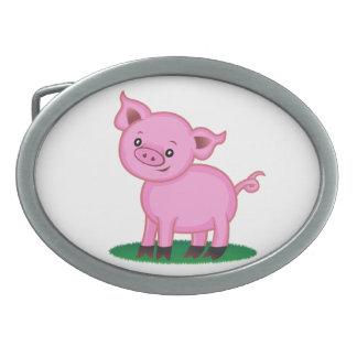 Cute Little Pig Belt Buckle