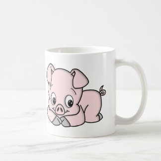 Cute Little Pig Coffee Mug