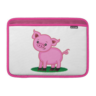 Cute Little Pig Macbook Air Sleeve