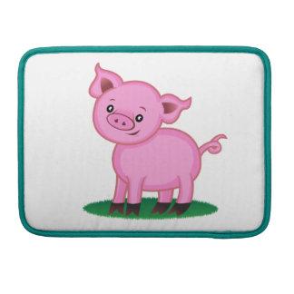 Cute Little Pig Macbook Pro Sleeve
