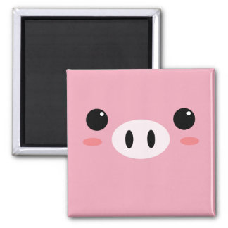 Cute Little Pig Magnet