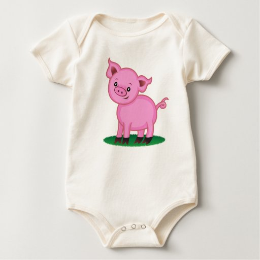 Cute Little Pig Shirt