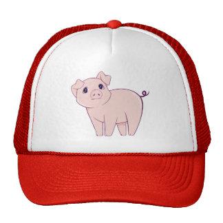 Cute Little Piggy Art Trucker Hat