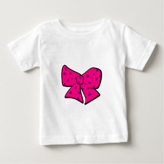 Cute Little Pink and Purple Bow Baby T-Shirt