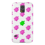 Cute Little Pink/Green Turtle Pattern Galaxy S5 Case