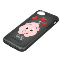 Cute Little Pink Piggy OtterBox Symmetry iPhone 8/7 Case