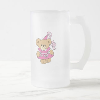 Cute Little Pink Princess Bear Mugs