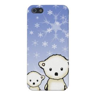 Cute Little Polar Bears Cover For iPhone SE/5/5s