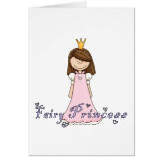 Cute Little Pretty Fairy Princess Card