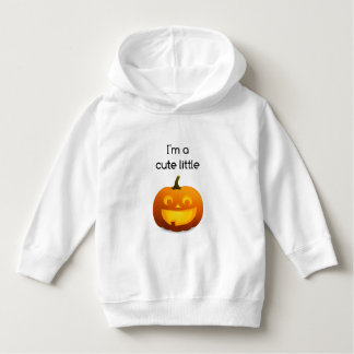 Cute Little Pumpkin Toddler Pullover Hoodie