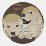 Cute Little Puppies Sticker