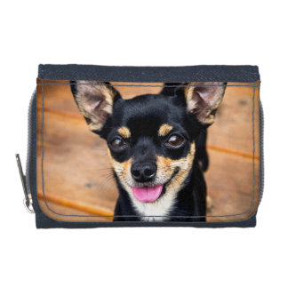 Cute Little Puppy Chihuahua Dog Wallets