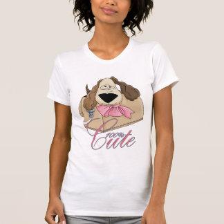 cute little puppy in purse - purse pet t-shirt