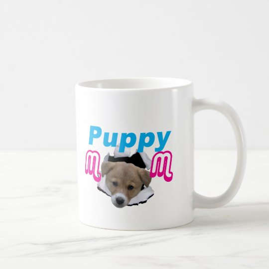 Cute little Puppy poppin out! Coffee Mug