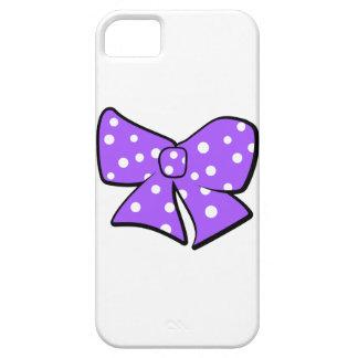 Cute Little Purple Bow iPhone SE/5/5s Case