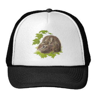 Cute Little Rabbit, Bunny, Animal Nature, Wildlife Trucker Hat