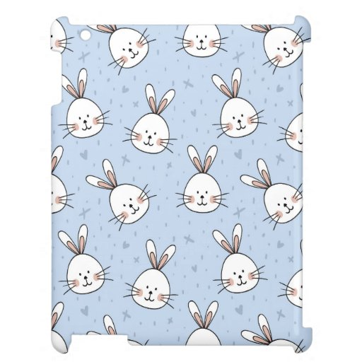 Cute Little Rabbits Case for the iPad