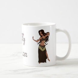 Cute Little Raqs Sharqi Bellydancer Coffee Mug