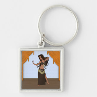 Cute Little Raqs Sharqi Bellydancer Keychain