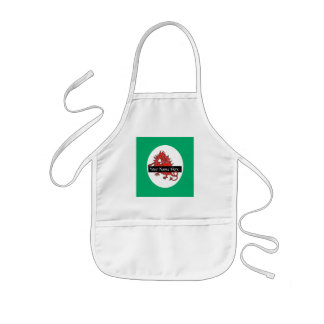 Cute Little Red Dragon Apron to Personalize