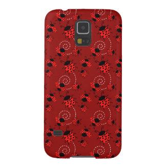 Cute Little Red Ladybugs Galaxy S5 Case