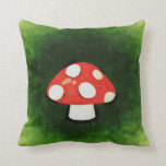 Cute Little Red Mushroom Pillows