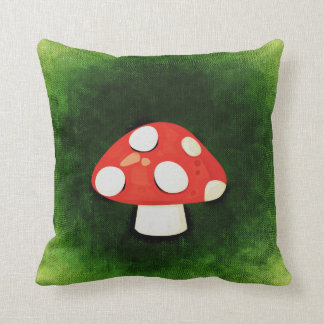 Cute Little Red Mushroom Pillows
