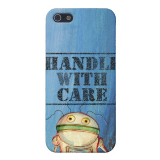 cute little robot cover for iPhone SE/5/5s