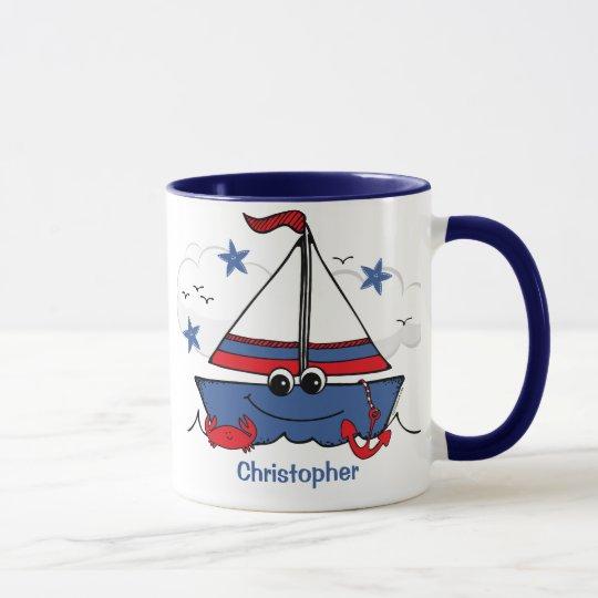 Cute Little Sailboat Mug