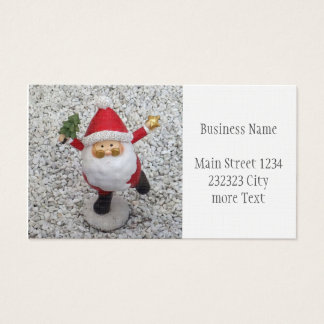 Cute little Santa Business Card
