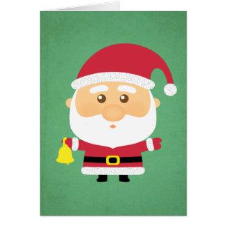 Cute Little Santa Claus Christmas Holiday Greeting Greeting Card