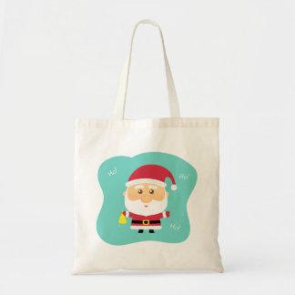 Cute Little Santa Claus Ho Ho Ho Tote Bag