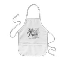 Cute little sheep appron kids' apron