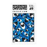 Cute Little Siamese Cat Stamp