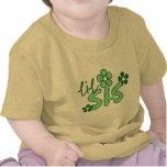 Cute Little Sis Flower Design T-shirts