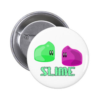 cute little slime 2 inch round button