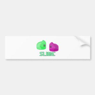 cute little slime bumper stickers