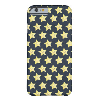 Cute little Smiley Stars Barely There iPhone 6 Case