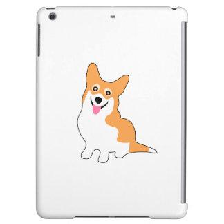 Cute Little Smiling Corgie Puppy iPad Air Covers