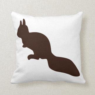 Cute little squirrel pillow