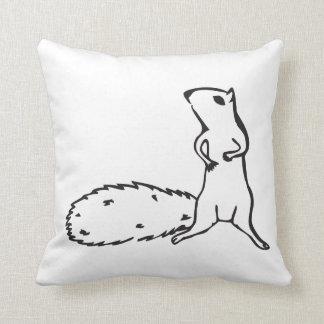 Cute little squirrel pillows